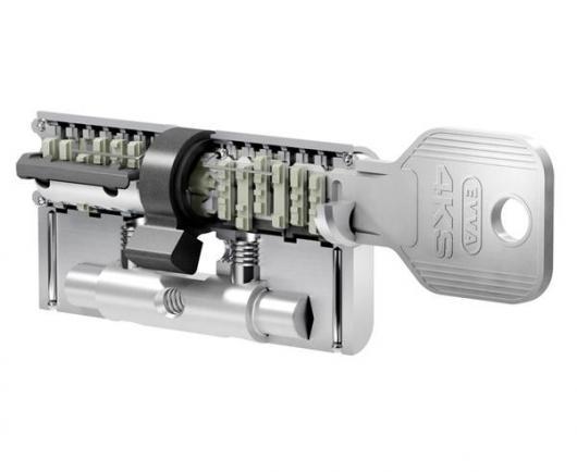 Bezpečnostná cylindrická vložka EVVA 4KS