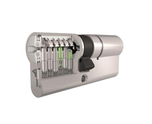 Prierez bezpečnostnej cylindrickej vložky Mul-T-Lock MTL800