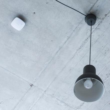 Požiarny detektor Ajax FireProtect white