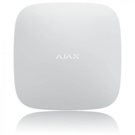 Ajax Hub 2 Biely pohľad z predu