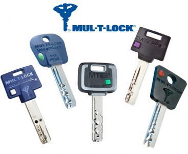 Dorezanie kľúčov Mul-T-Lock