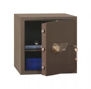 Nábytkový trezor Safetronics s elektronickým a kľúčovým zámkom