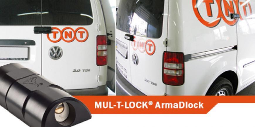 Zabezpečenie dodávok pomocou Mul-T-Lock ArmaDLock
