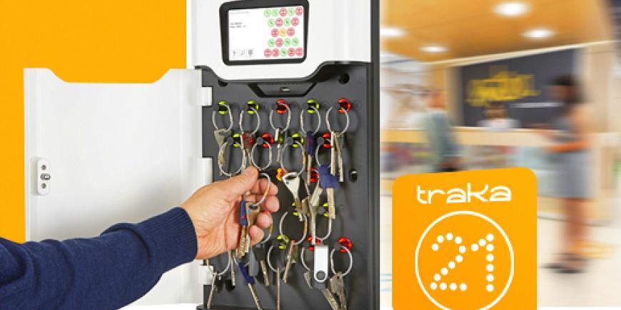 Elektronický sejf na kľúče Mul-T-Lock Traka21