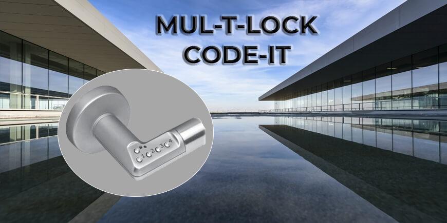 Elektronická kľučka Mul-T-Lock Code It