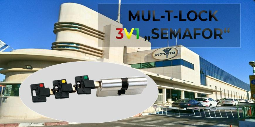 Mul-T-Lock 3v1 SEMAFOR